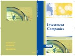 Investment companies, with conforming changes as of May 1, 2009; Audit and accounting guide by American Institute of Certified Public Accountants. Investment Companies Guide Task Force
