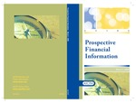 Prospective financial information with conforming changes as of March 1, 2009; Audit and accounting guide by American Institute of Certified Public Accountants. Financial Forecasts and Projections Task Force