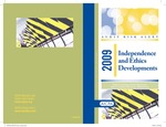 Independence and ethics developments - 2009; Audit risk alerts by American Institute of Certified Public Accountants
