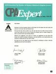 CPA expert 1995-1999 cumulative index by American Institute of Certified Public Accountants