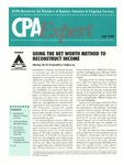 CPA expert 1999 fall by American Institute of Certified Public Accountants