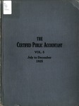 Certified public accountant, 1925 Vol. 5 July-December
