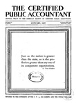 Certified public accountant, 1927 Vol. 7