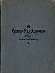 Certified public accountant, 1931 Vol. 11