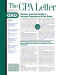 CPA letter 2005 by American Institute of Certified Public Accountants