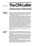 CPA letter, 1975