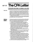 CPA letter, 1976