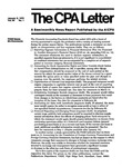CPA letter, 1979
