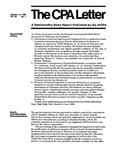 CPA letter, 1980