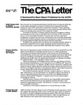 CPA letter, 1983