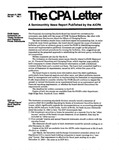 CPA letter, 1984