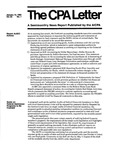 CPA letter, 1985