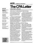 CPA letter, 1993
