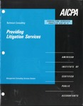Providing litigation services; Consulting services practice aid, 93-4