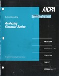 Analyzing financial ratios; Consulting services practice aid, 94-4