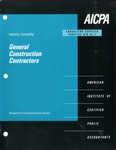 General construction contractors; Consulting services practice aid, 95-1