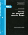 Providing cash management consulting services; Consulting services practice aid, 96-4