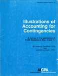 Illustrations of accounting for contingencies : a Survey of the application of FASB statements nos. 5 and 11; Financial report survey, 10