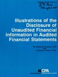 Illustrations of the disclosure of unaudited financial information in audited financial statements; Financial report survey, 13