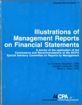 Illustrations of management reports on financial statements : a survey of the application of the Conclusions and recommendations of the AICPA Special Advisory Committee on Reports by Management; Financial report survey, 19