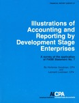 Illustrations of accounting and reporting by development stage enterprises : a survey of the application of FASB statement no. 7; Financial report survey, 27