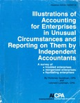 Illustrations of accounting for enterprises in unusual circumstances and reporting on them by independent accountants; Financial report survey, 28