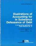 Illustrations of accounting for in substance defeasance of debt: a survey of the application of FASB statement no. 76; Financial report survey, 32