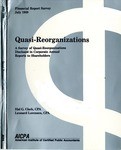 Quasi-reorganizations : a survey of quasi-reorganizations disclosed in corporate annual reports to shareholders; Financial report survey, 39