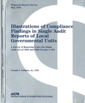 Illustrations of compliance findings in single audit reports of local governmental units : a survey of reporting under the Single Audit Act of 1984 and OMB circular A-128; Financial report survey, 43