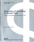 Illustrations of accounting for income taxes : a survey of the application of FASB statement no. 109; Financial report survey, 49