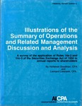 Illustrations of the summary of operations and related management discussion and analysis : a survey of the application of Rules 14a-3 and 14c-3 of the Securities exchange act of 1934 in annual reports to shareholders; Financial report survey, 06
