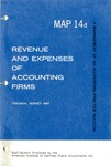 Revenue and expenses of accounting firms, triennial survey 1967; Management of an accounting practice bulletin, MAP 14d