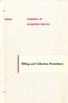 Billing and collection procedures; Economics of accounting practice, bulletin 11
