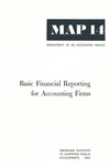 Basic financial reporting for accounting firms; Management of an accounting practice bulletin, MAP 14