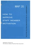 How to improve staff member motivation; Management of an accounting practice bulletin, MAP 20