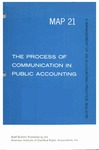 Process of communication in public accounting; Management of an accounting practice bulletin, MAP 21