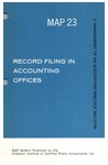 Record filing in accounting offices; Management of an accounting practice bulletin, MAP 23