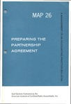 Preparing the partnership agreement; Management of an accounting practice bulletin, MAP 26