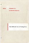 Difficult art of setting fees; Economics of accounting practice, bulletin 03
