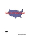 Digest of state issues 2006, vol. 17, no. 1 by American Institute of Certified Public Accountants. State Regulation and Legislation