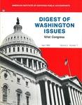 Digest of Washington issues, April 1990, vol. 2, no. 7