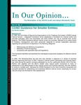 In our opinion… , vol. 21 no. 3, Summer 2005 by American Institute of Certified Public Accountants. Audit and Attest Standards Team