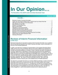 In our opinion… , December 2008 by American Institute of Certified Public Accountants. Audit and Attest Standards Team