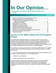 In our opinion… , March 2011 by American Institute of Certified Public Accountants. Audit and Attest Standards Team