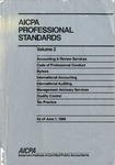 AICPA Professional Standards: Accounting and Review Standards as of June 1, 1988