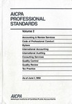 AICPA Professional Standards: Accounting and Review Standards as of June 1, 1992