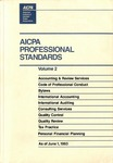 AICPA Professional Standards: Accounting and Review Standards as of June 1, 1993