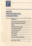 AICPA Professional Standards: accounting and Review Standards as of June 1, 1995