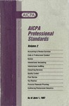 AICPA Professional Standards: Accounting and Review Standards as of June 1, 1996
