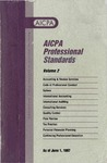 AICPA Professional Standards: Accounting and Review Standards as of June 1, 1997